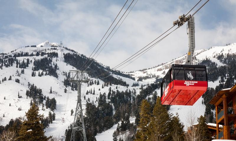 Tram at Jackson Hole Mountain Resort