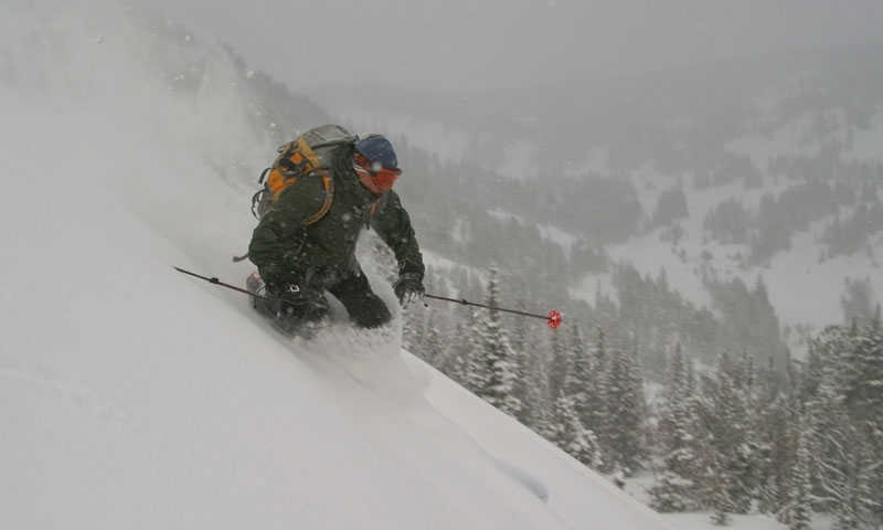 Backcountry Skiing on Teton Pass