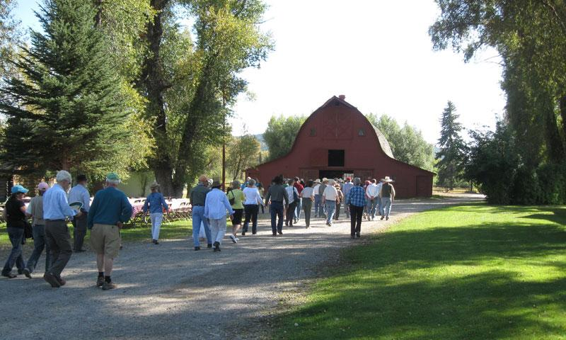 Ranch Tour during the Fall Arts Festival