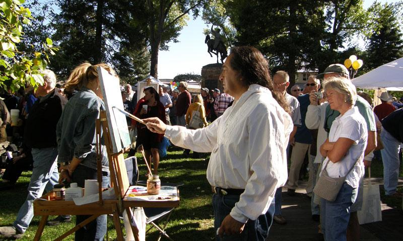 Fall Arts Festival in Jackson Wyoming
