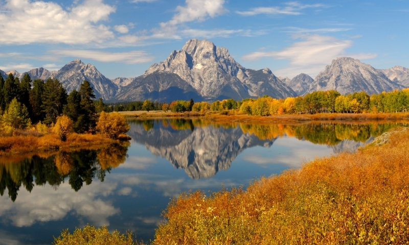 Snake River Oxbow Bend Grand Teton Jackson Wyoming