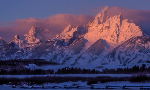 Winter in Grand Teton National Park