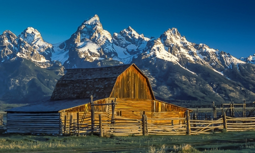 Moulton Barn in Grand Teton National Park