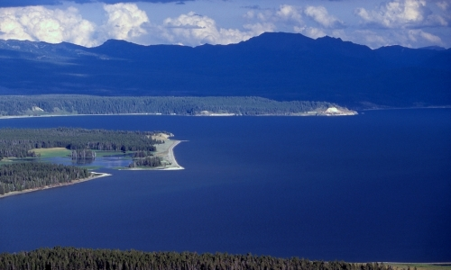 Yellowstone National Park Yellowstone Lake