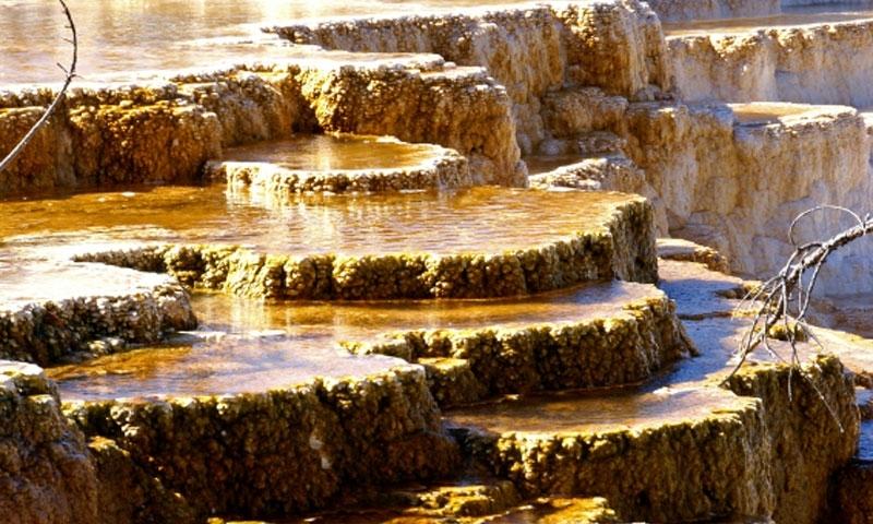 Yellowstone National Park Mammoth Hot Springs