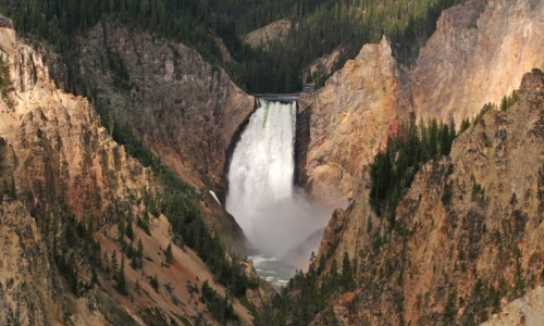 Yellowstone National Park Canyon