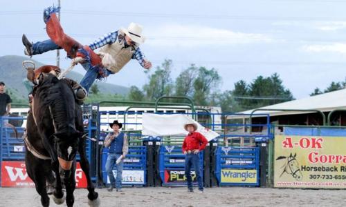 Jackson Hole Rodeo Wyoming