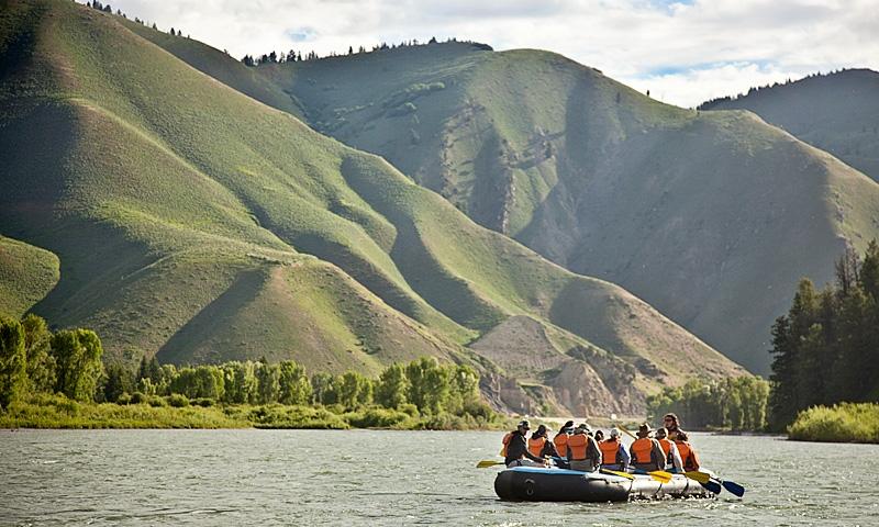 Jackson Hole WY Activities Rafting