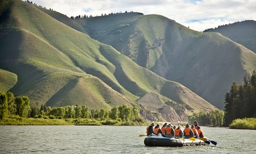 Jackson Hole WY Activities Rafting