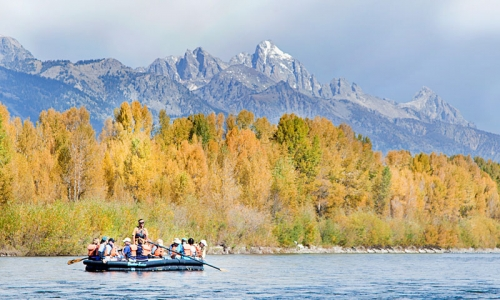 Jackson Hole Wyoming Activities Scenic Float