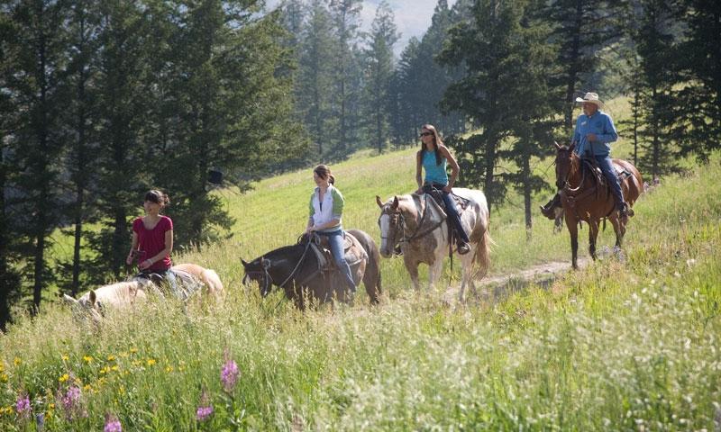 Horseback Riding at Snow King Resort