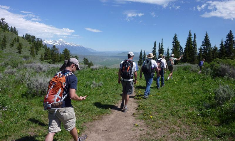Hiking in Jackson Wyoming