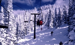 Chairlift at Steamboat