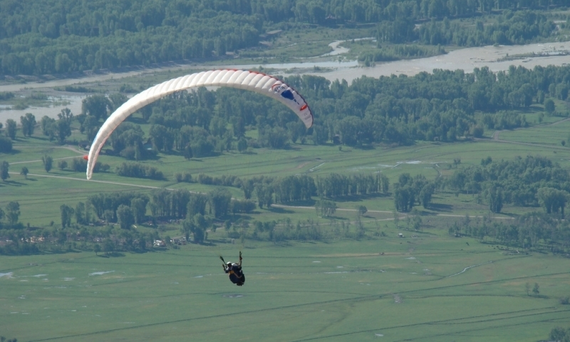 Paragliding at Jackson Hole Mountain Resort