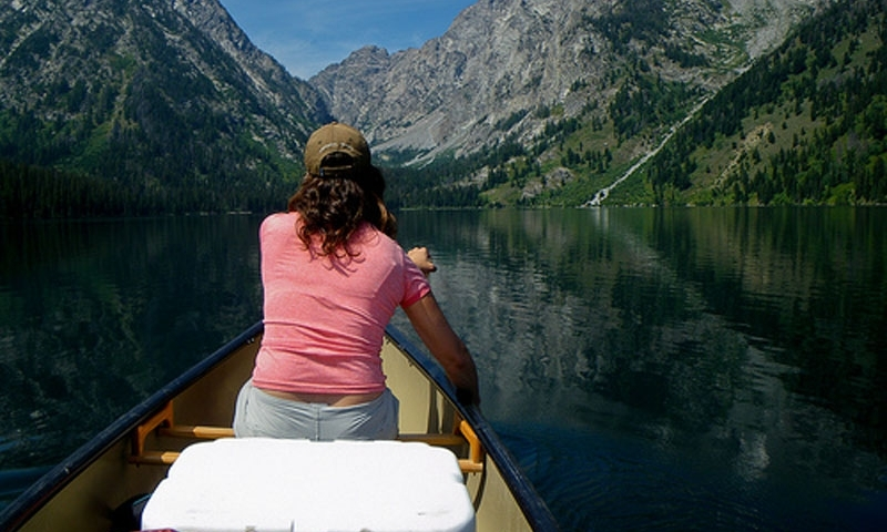 Jackson Hole Canoeing Grand Teton Park
