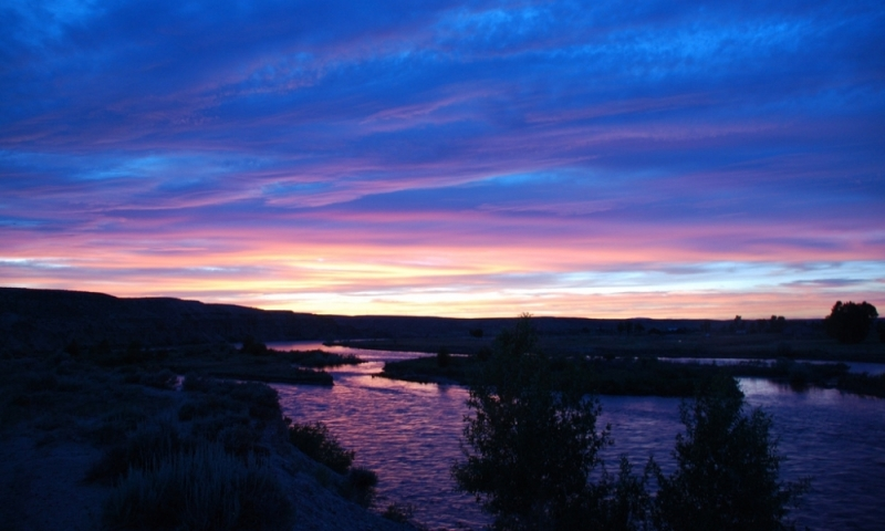 Pinedale Wyoming Green River Sunset