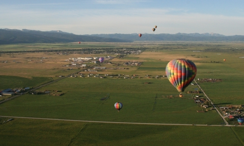 Teton Valley Idaho Hot Air Balloons