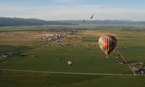 Teton Valley Hot Air Balloon Rides