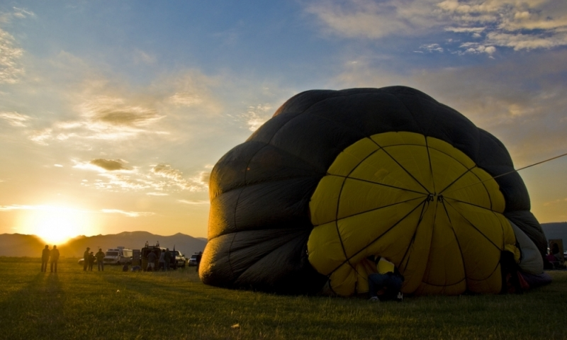 Driggs Idaho Hot Air Balloon Rides