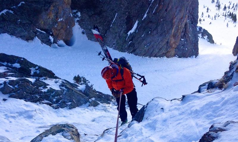 Climbing Jackson Hole