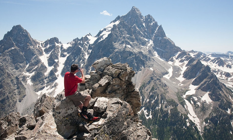Grand Teton National Park Summit The Jaw Climbing